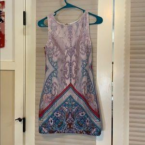 ASOS Ginger Fizz Printed Mini Dress